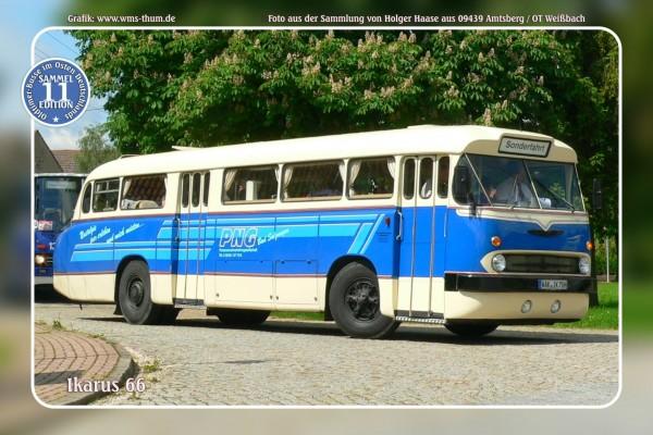 """Blechschild Bus Nr.11 """"Ikarus 66"""""""