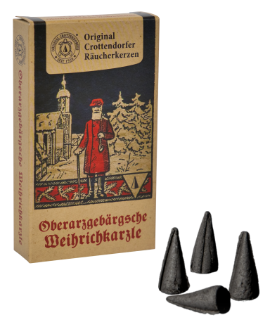 Räucherkerzen - Jahrgangs Edition 2020 Oberarzgebärgsche Weihrichkarzle