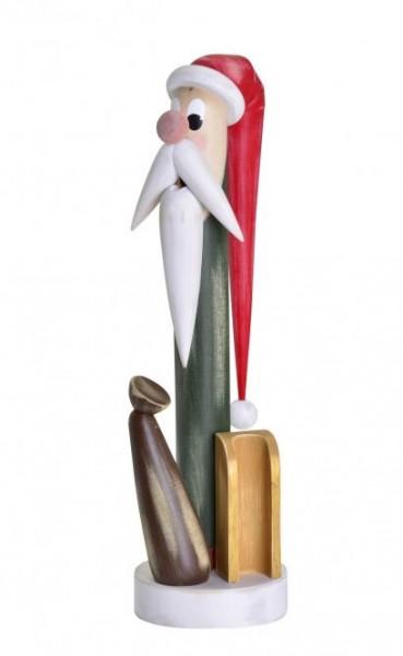 """Räuchermann """"Weihnachtswichtel"""" Shabby Chic 40cm"""