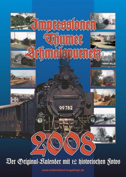 """Kalender """"Thumer Schmalspurnetz 2008"""""""