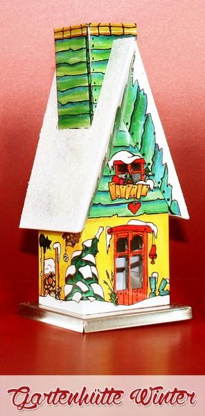 """Räucherhütte """"Gartenhütte Winter"""""""