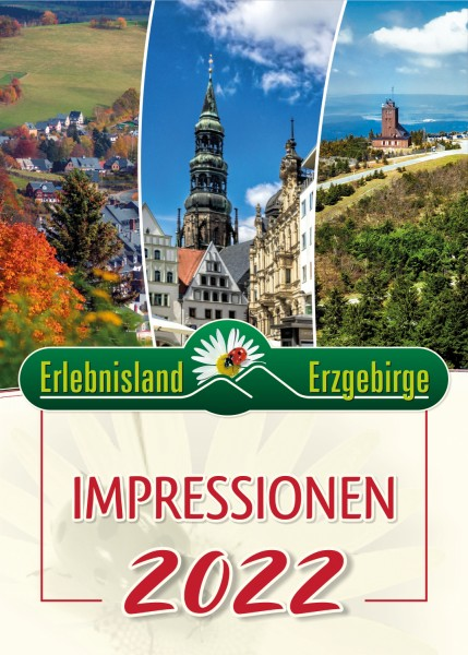 """Jahreskalender """"Impressionen Erlebnisland Erzgebirge"""" 2022"""