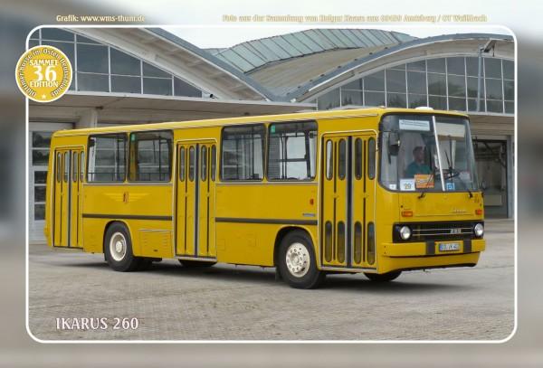"""Blechschild Bus Nr. 36 """"Ikarus 260"""""""