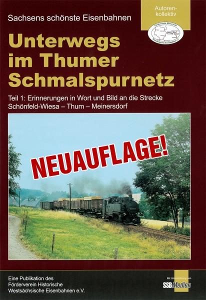 """Teil 1: Broschüre """"Unterwegs im Thumer Schmalspurnetz"""" NEUAUFLAGE!"""
