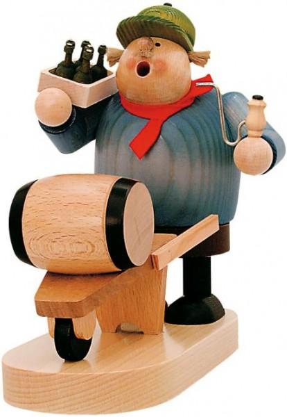 """Räuchermann """"Bierhändler"""" 19cm"""