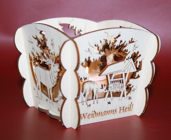 Teelichthalter Weidmanns Heil
