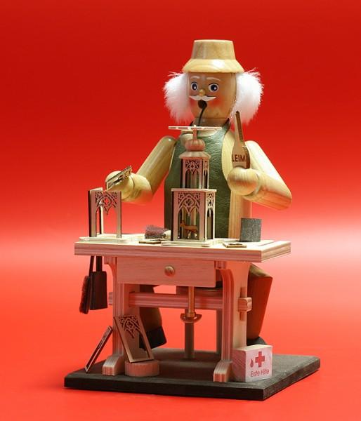Räuchermann Pyramidenhersteller mit Spielwerk
