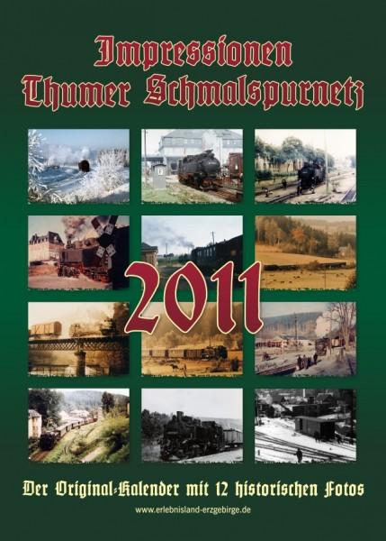 """Kalender """"Thumer Schmalspurnetz 2011"""""""