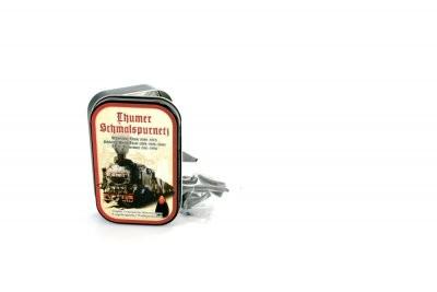 """Räucherkerzendose """"Thumer Schmalspurnetz"""""""