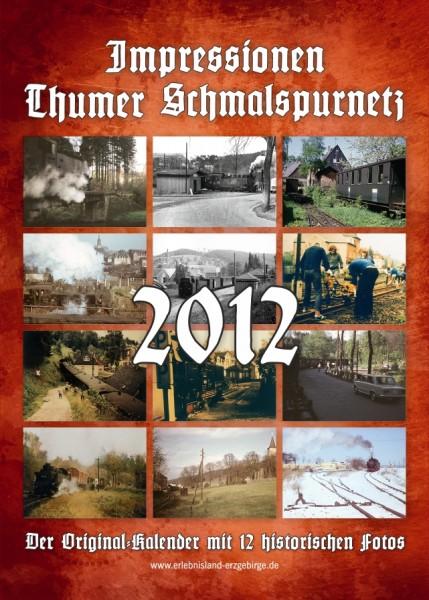 """Kalender """"Thumer Schmalspurnetz 2012"""""""