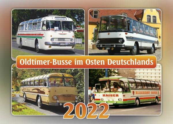 """Kalender """"Oldtimer-Busse im Osten Deutschlands 2022"""""""