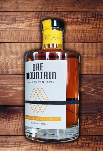 ORE MOUNTAIN Single Malt Whisky - Marsalla Wine Cask Finish - Limitierte Edition