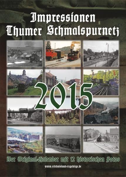 """Kalender """"Thumer Schmalspurnetz 2015"""""""