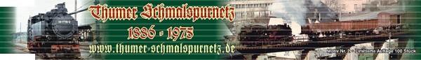Zollstock - Thumer Schmalspurnetz Nr. 2