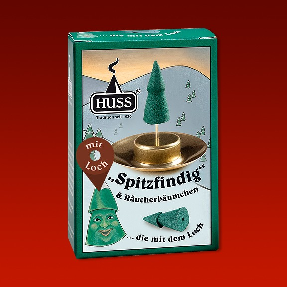 """""""Spitzfinding"""" & Räucherbäumchen"""