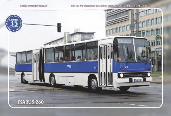 """Blechschild Bus Nr. 35 """"Ikarus 280"""""""