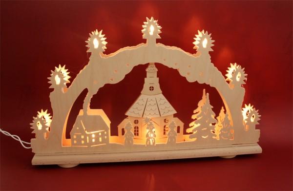 Schwibbogen Seiffner Kirche 3D