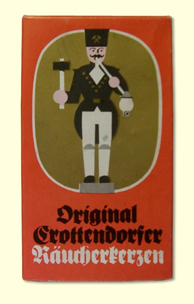 Retro!! Original Crottendorfer Räucherkerzen in Originalverpackung