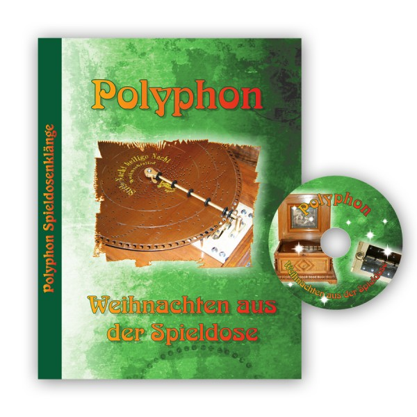 """Polyphon """"Weihnachten aus der Spieldose""""- 9 Tracks"""