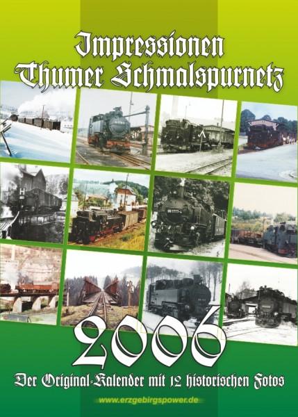 """Kalender """"Thumer Schmalspurnetz 2006"""""""