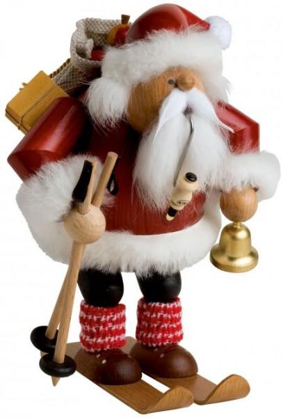 """Räuchermann """"Weihnachtsmann auf Skiern"""" 20cm"""