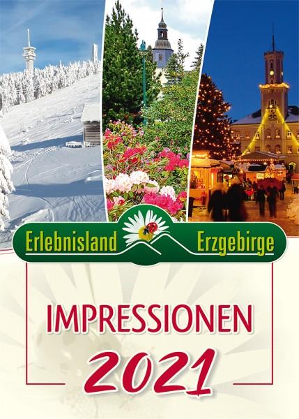 """Jahreskalender """"Impressionen Erlebnisland Erzgebirge"""" 2021"""