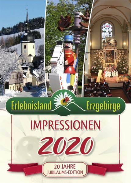 """Jahreskalender """"Impressionen Erlebnisland Erzgebirge"""" 2020"""