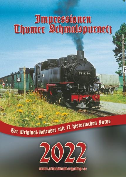 """Kalender """"Thumer Schmalspurnetz 2022"""""""