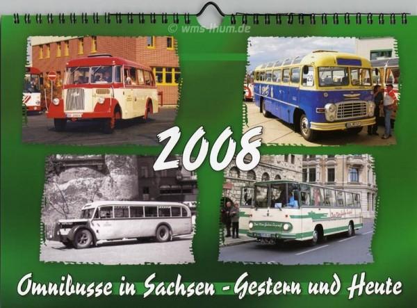 Omnibusse in Sachsen - Gestern und Heute 2008