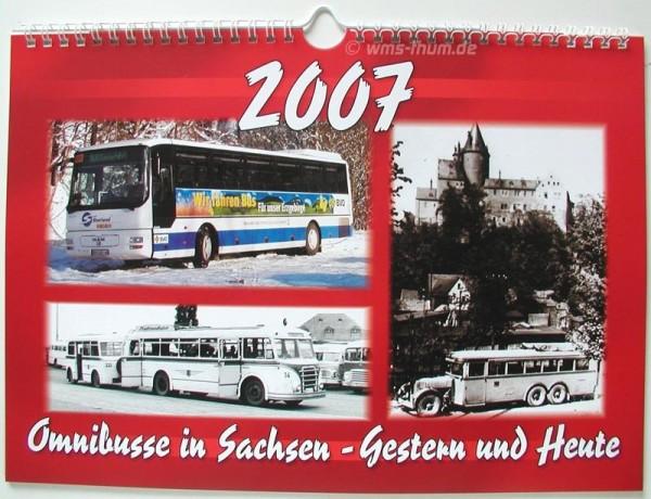 Omnibusse in Sacheen - Gestern und Heute 2007
