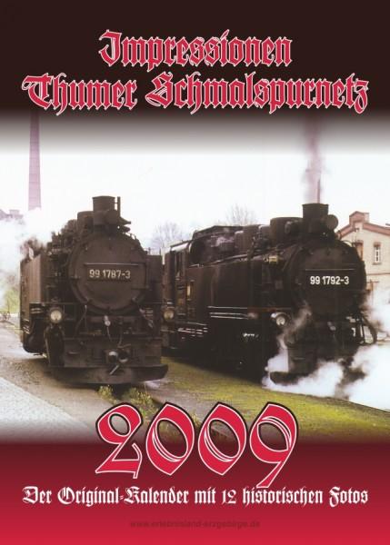 """Kalender """"Thumer Schmalspurnetz 2009"""""""