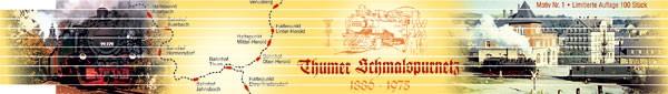 Zollstock - Thumer Schmalspurnetz Nr. 1